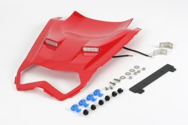 Hotbodies Racing 51101-1104 Passion Red ABS Undertail with Built-In LED Signals