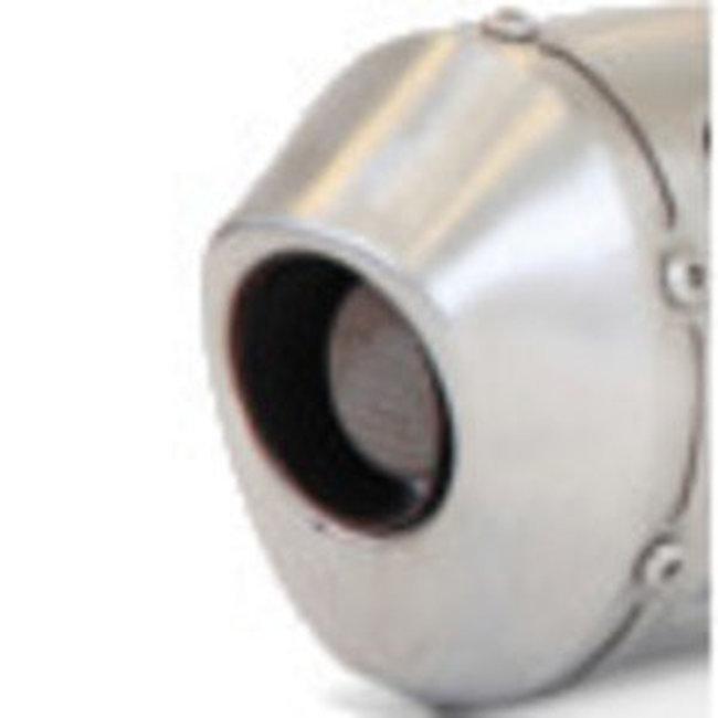 Stainless Slip On Exhaust Muffler w/SA - For 07-13 Yamaha WR250F
