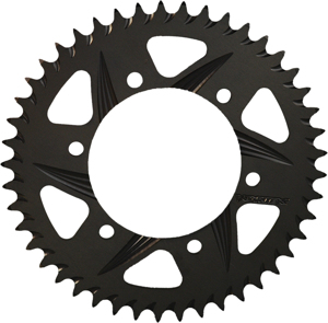 F5 Rear Aluminum Sprocket Black Hardcoat 42T 525 - For 96-14 Kawasaki