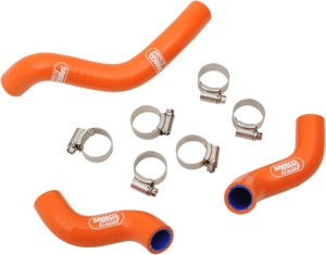 Orange Race Radiator Hose Kit w/Clamps - For 15-16 KTM 450 SX-F Factory