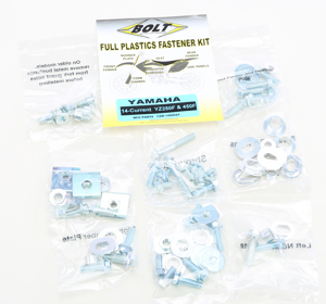 Full Plastic Fastener Kit - For 14-18 YZ250F, 15-18 WR250/450F, 14-17 YZ450F