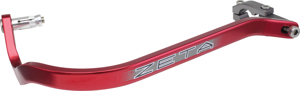 "Zeta All Aluminum Handguard w/ Protector Armor w/ Bend 1-1/8"" - Red"