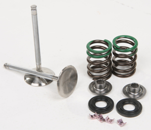 Steel Valve Exhaust Kit - For 08-15 Suzuki RMZ450