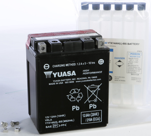 AGM Maintenance Free Battery YTX14AHL-BS