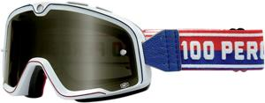 100% GOGGLE BARSTOW WT/SMK