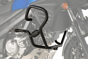 Engine Guard Black - For 12-17 Suzuki DL650 V-Strom