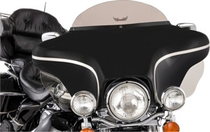 "130 Series Detachable Windshield 6"" Smoke - For 96-13 HD FLH"