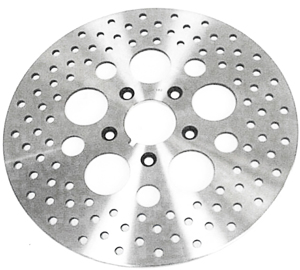 Brake Rotors Drilled Vented S.S - For 79-99 H-D Dyna Softail Sportster