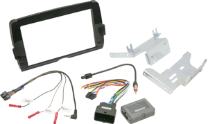 Double Din Stereo Install Kit - For Harley Davidson Touring