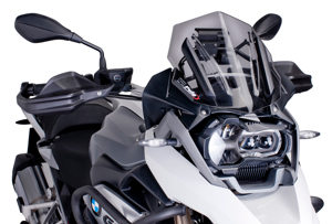 Dark Smoke Racing Windscreen - For 13-16 BMW R1200GS/A