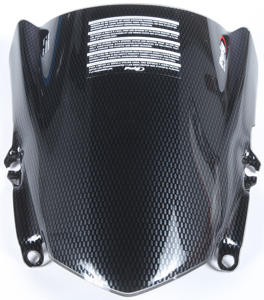 Carbon Look Racing Windscreen - For 13-15 Honda CBR500R