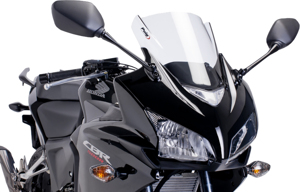 Clear Racing Windscreen For CBR500R