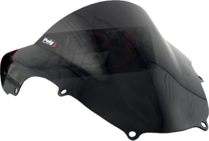 Dark Smoke Racing Windscreen - For 00-03 GSXR750, 01-02 GSXR1000, 01-03 GSXR600