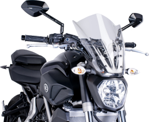Clear Naked New Generation Windscreen - For 15-16 Yamaha FZ-07
