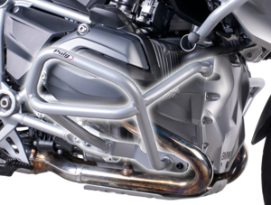 Grey Engine Guards High - For 2013 BMW R1200GS/A
