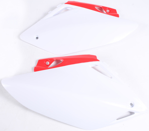 Side Panels White - For 07-08 Honda CRF450R