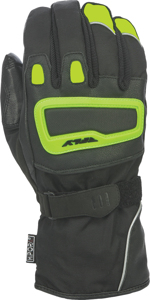 Xplore Riding Gloves Hi-Vis Yellow/Black Large