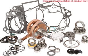 Engine Rebuild Kit w/ Crank, Piston Kit, Bearings, Gaskets & Seals - 07-12 KTM 200 XC-W