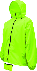 Compact Rain Riding Jacket Hi-Vis Yellow X-Large