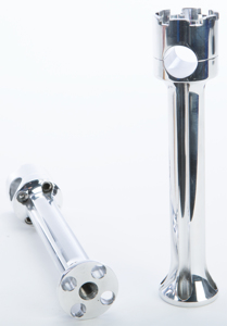 "8"" Handlebar Riser 1"" Bar Wide Polished"