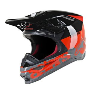 Supertech S-M8 Radium Helmet Gloss Red/Black Large