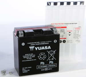 AGM Maintenance Free Battery YTX20CH-BS