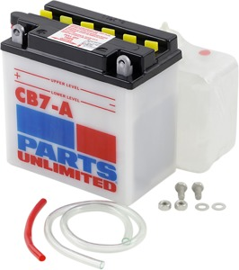 Heavy-Duty Battery 12V 8Ah - Replaces YB7A