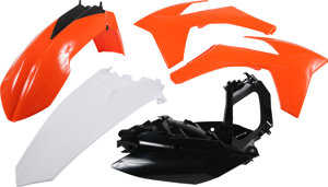 Plastic Kit Orange - For 11-12 KTM