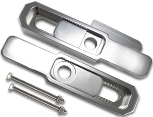 Billet Swing Arm Extension Chrome - For 05-12 Honda