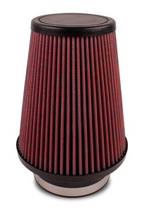 "Universal Air Filter - Cone 4"" FLG 4-5/8"" x 3-1/2"" x 7"" - Synthaflow"