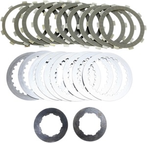 SRK Complete Clutch Kit - Aramid Fiber Friction Plates, Steels, & Springs