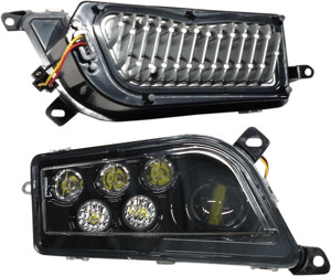 LED Headlight Conversion Kit 2 Piece - Polaris RZR 1000 & Turbo, General