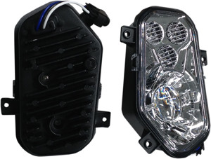 LED Headlight Conversion Kit 2 Piece - 12-18 Polaris RZR 900