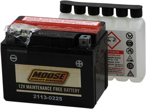 YTX AGM Maintenance Free Battery 200CCA 12V 12Ah - Replaces YTX4L-BS