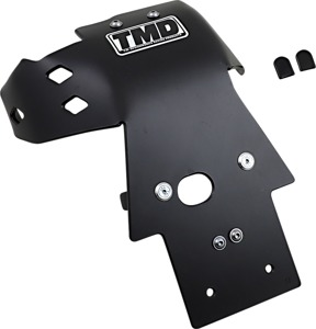 Black Full-Coverage Skid Plate - For 05-20 Yamaha YZ250 YZ250X