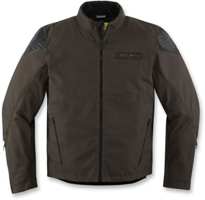 Icon 1000 Squalborn Textile Jacket - Brown Men's Medium