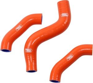 Radiator Hoses Orange - For 2019 KTM 450 SX-F