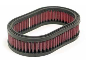 "Custom Air Filter 7"" X 4-1/2"", 1-3/4""H, OVAL"