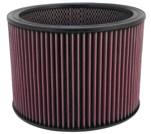 "Custom Air Filter - 11""OD,9""ID,8""H; W/Inner Wire"