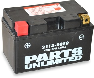 AGM Maintenance Free Battery 190CCA 12V 8.6Ah Factory Activated - Replaces YTZ10S