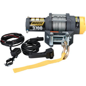 ATV / UTV Winch - 3700 LB With Wire Rope