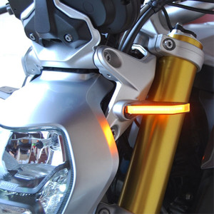 Front LED Turn Signals for 15-17 BMW R1200R & RS