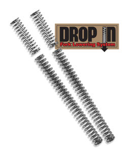 Drop-In Fork Lowering Spring Kit - 09-15 Kawasaki Vulcan 1700