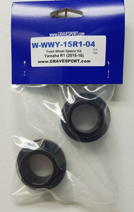 R1 R6 WORKS Captive Front Wheel Spacer Kit