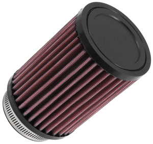 "Universal Rubber Air Filter - 2-1/2""FLG, 3-1/2""OD, 5""H"