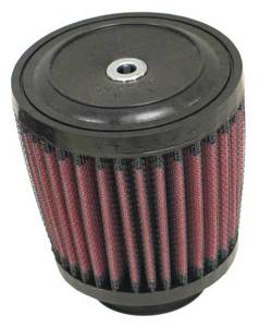 "Universal Rubber Air Filter - 1-1/4""FLG, 3-1/2""T, 2-15/16""B, 2-7/16""H"