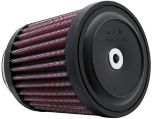 "Universal Rubber Air Filter - 1-3/4""FLG, 3""B X 3-1/2""T, 3-1/2""H"