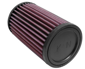 "Universal Rubber Air Filter - 2-7/16""FLG, 3-1/2""OD, 6""H"