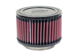 "Universal Rubber Air Filter - 2-5/8""FLG, 4-1/2""OD, 3""H"