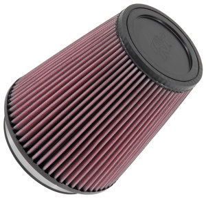 "Universal Rubber Air Filter - 5""FLG, 6-1/2""B, 4-3/8""T, 7""H"